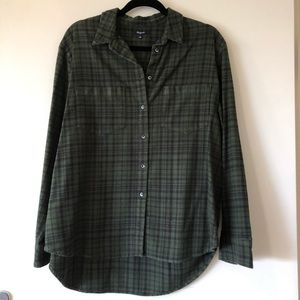 Like New Madewell Flannel